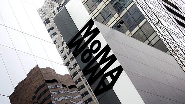 Exterior view of Museum of Modern Art