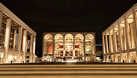 Exterior view of Lincoln Center