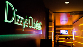 View of Dizzy Club entrance
